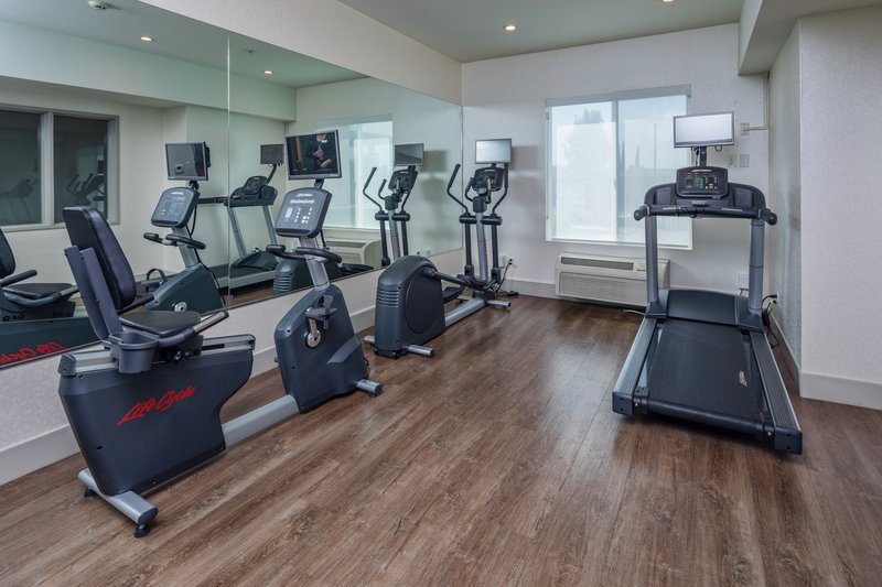 Holiday Inn Express & Suites Modesto-Salida-Fitness Center Cardio Equipment<br/>Image from Leonardo