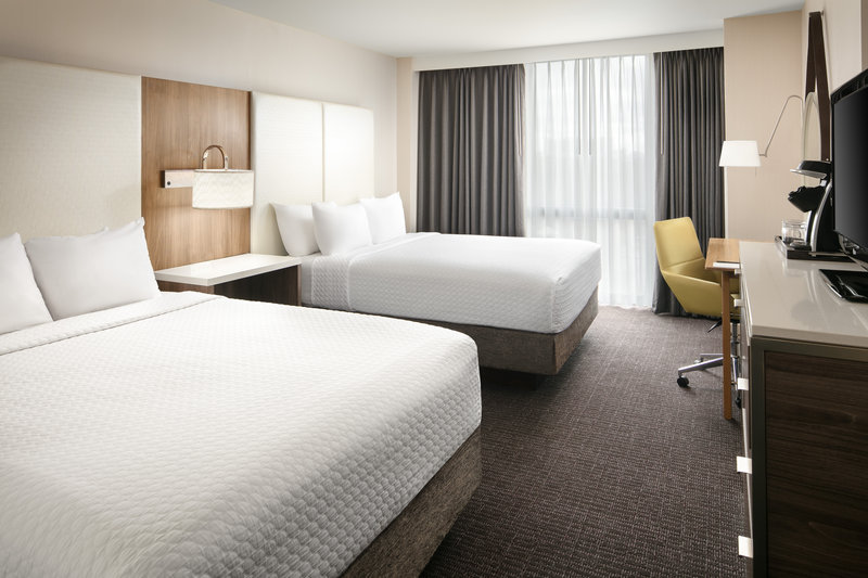 Crowne Plaza Dallas Market Center-Our stylishly-appointed double rooms can accommodate up to four.<br/>Image from Leonardo
