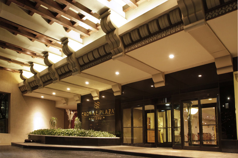 Crowne Plaza Monterrey-Motor Lobby Entrance View<br/>Image from Leonardo