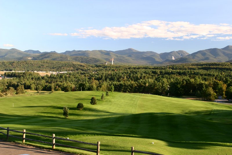 Crowne Plaza Lake Placid-Adirondack views from the Lake Placid Club Mountain Course<br/>Image from Leonardo