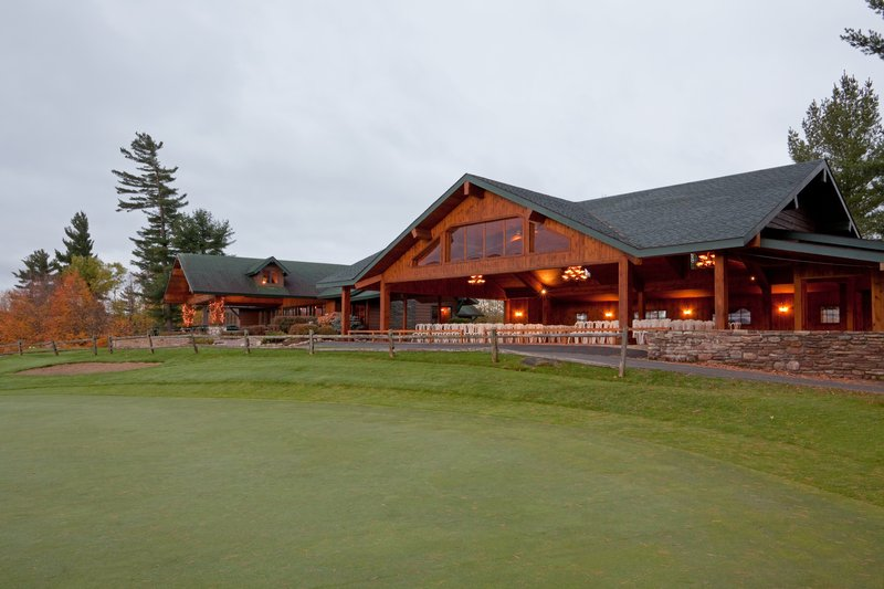 Crowne Plaza Lake Placid-Lake Placid Club Golf House Restaurant Fall Exterior<br/>Image from Leonardo