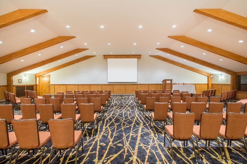 Crowne Plaza Lake Placid-Bring your next speaker to the Sky Room<br/>Image from Leonardo
