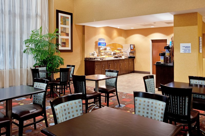 Holiday Inn Express & Suites Columbia - Downtown-Breakfast Area<br/>Image from Leonardo