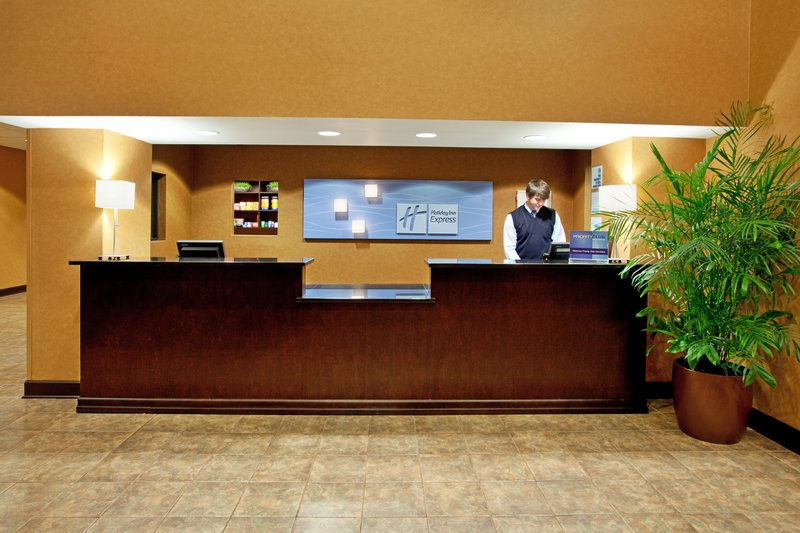 Holiday Inn Express & Suites Columbia - Downtown-Hotel Lobby<br/>Image from Leonardo