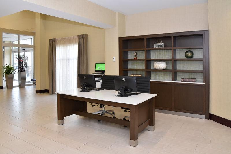Holiday Inn Canton (Belden Village)-Business Center<br/>Image from Leonardo