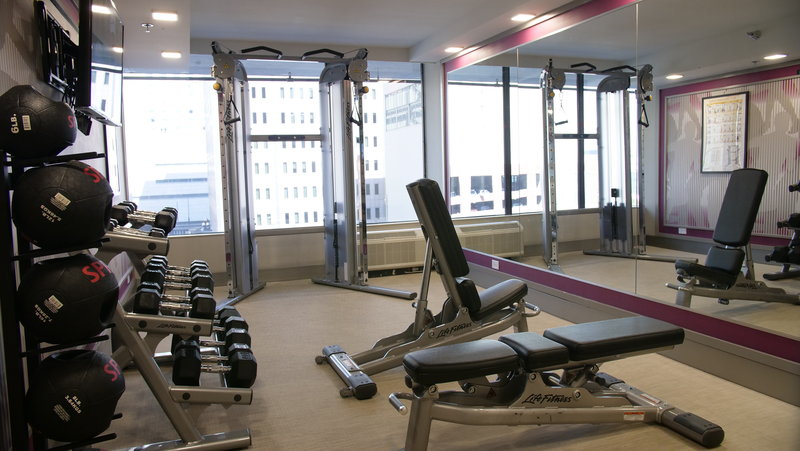 Crowne Plaza Downtown Denver-Pump some iron in the 24 hour fitness center<br/>Image from Leonardo