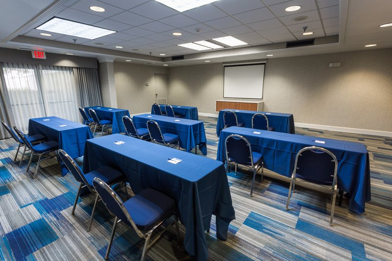 Holiday Inn Express Wilmington-Our remodeled meeting room can accommodate up to 100 people.<br/>Image from Leonardo