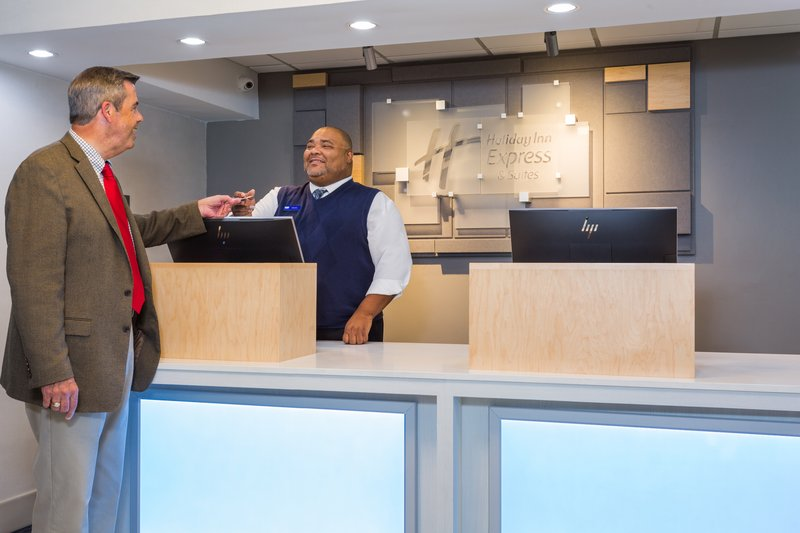 Holiday Inn Express Wilmington-Checking in to your Wilmington, NC hotel is a breeze.<br/>Image from Leonardo