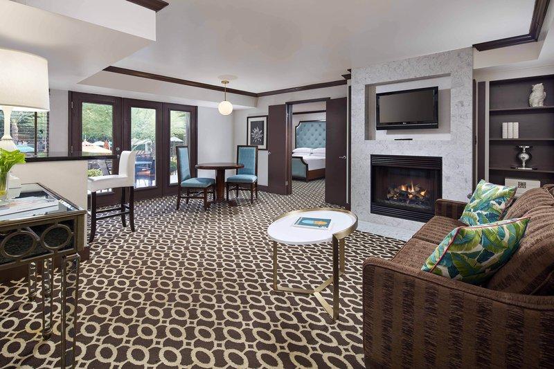 Riviera Palm Springs-One-Bedroom Premium King Suite - Fireplace<br/>Image from Leonardo