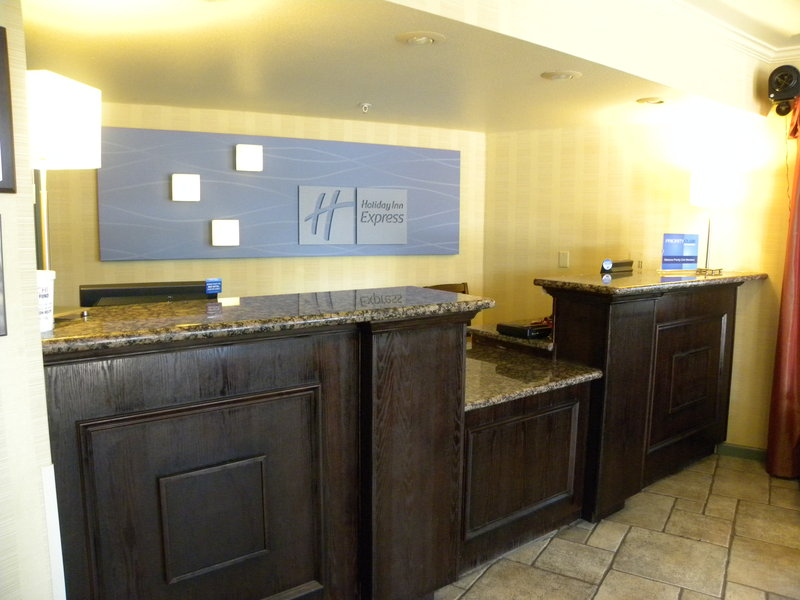 Holiday Inn Express Fort Bragg-Reception<br/>Image from Leonardo