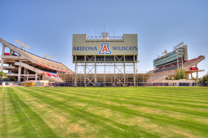 Holiday Inn Express & Suites Marana-Arizona Wildcats football a must see attraction in Tucson<br/>Image from Leonardo