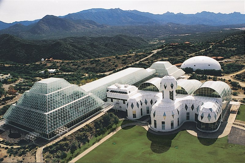 Holiday Inn Express & Suites Marana-Experience Biosphere 2 located just north of Tucson, AZ<br/>Image from Leonardo