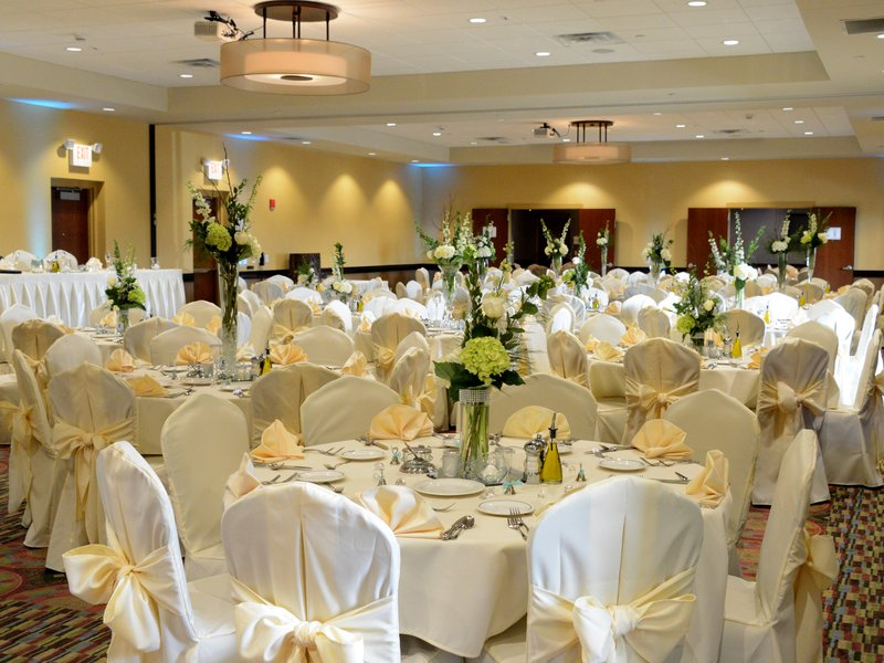 Holiday Inn Eau Claire South I-94-Our Spacious Ballroom is Perfect for Your Wedding!<br/>Image from Leonardo
