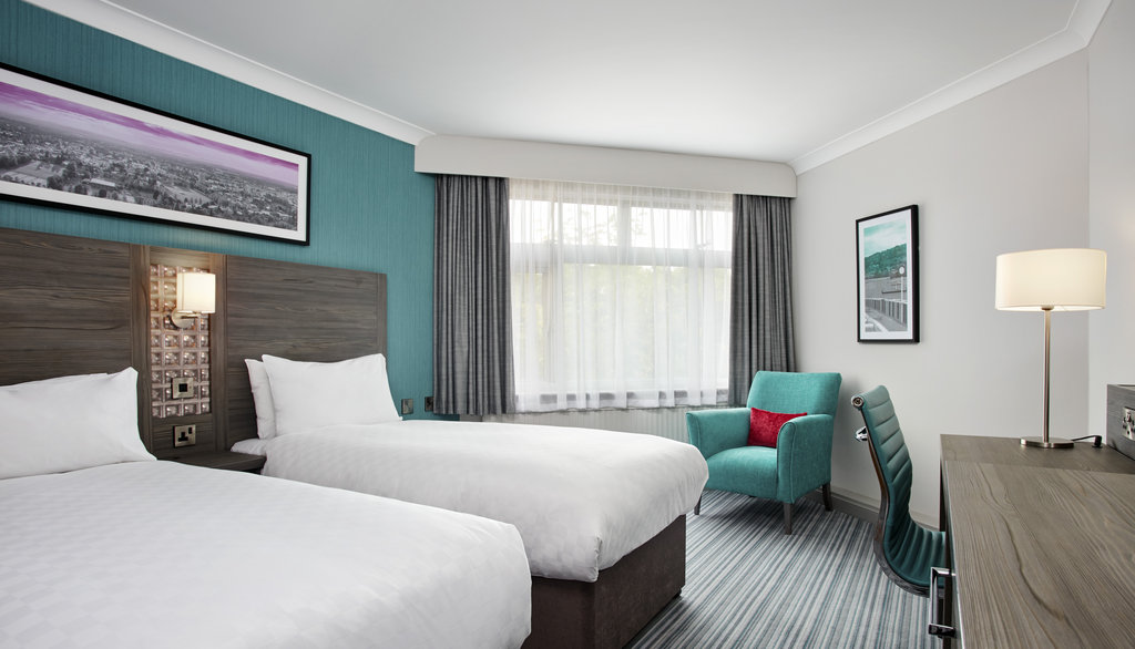 Jurys Inn Cheltenham-Twin Room<br/>Image from Leonardo