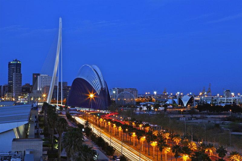 Holiday Inn Express Valencia Ciudad las Ciencias-View from Hotel<br/>Image from Leonardo