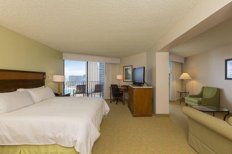Waikiki Beach Marriott Resort  - Junior Ocean View Suite <br/>Image from Leonardo