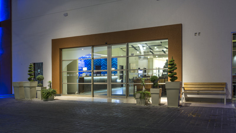 Holiday Inn Express Guadalajara Autonoma-Entrance<br/>Image from Leonardo