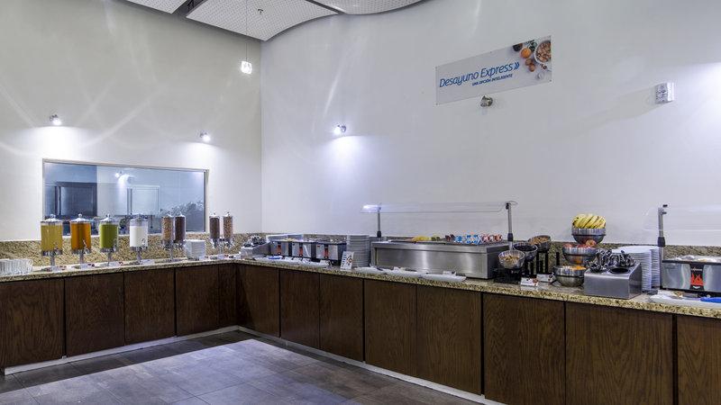 Holiday Inn Express Guadalajara Autonoma-Breakfast Bar<br/>Image from Leonardo