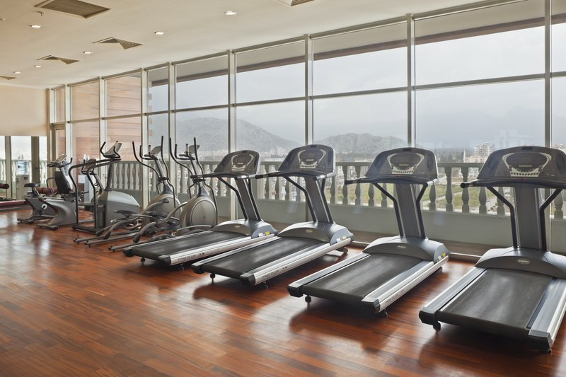 Crowne Plaza Antalya-Well equipped Fitness Centre for ladies only on the 10th floor<br/>Image from Leonardo