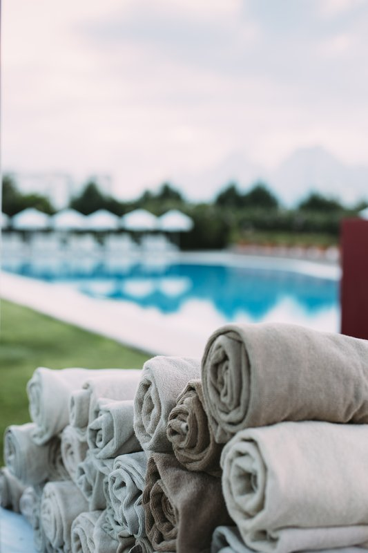 Crowne Plaza Antalya-Pool and Towels<br/>Image from Leonardo