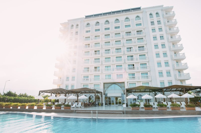 Crowne Plaza Antalya-Hotel Exterior with Sunshine<br/>Image from Leonardo