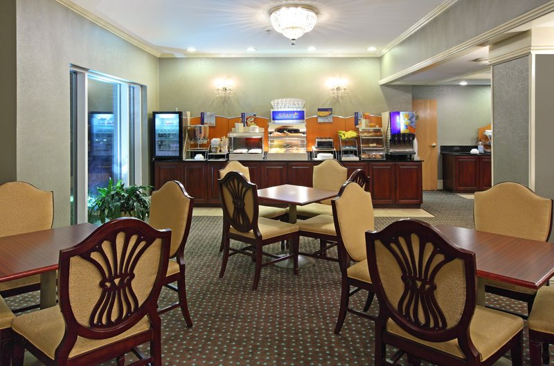 Holiday Inn Express Fort Smith Executive Park-Breakfast Bar<br/>Image from Leonardo