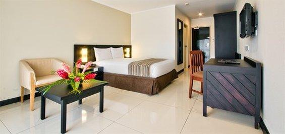 Tanoa Waterfront Hotel-Executive King Room<br/>Image from Leonardo