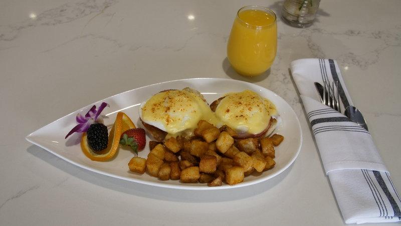 Crowne Plaza Downtown Denver-The Lockwood Kitchen & Bar's Eggs Benedict<br/>Image from Leonardo