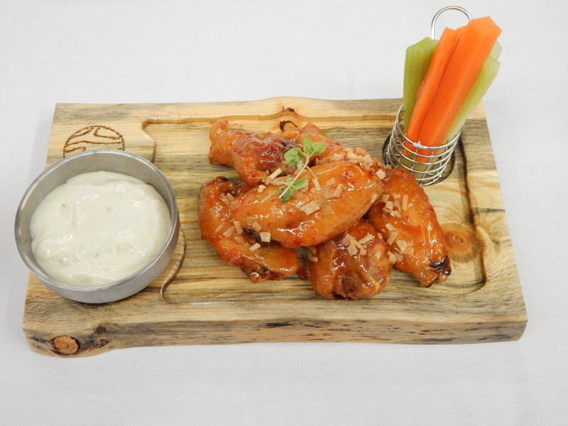 Crowne Plaza Downtown Denver-Enjoy Spicey Wings with a beer at The Lockwood Kitchen & Bar<br/>Image from Leonardo