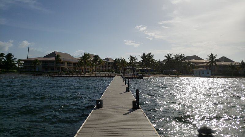 Holiday Inn Resort Grand Cayman-Swimming Pool, North Sound, Dock, fishing, ocean<br/>Image from Leonardo