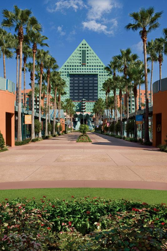 Walt Disney World Dolphin - Hotel Grounds <br/>Image from Leonardo