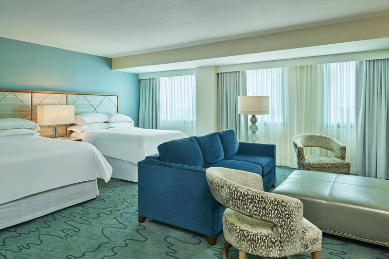 Walt Disney World Dolphin - Double/Double Deluxe Alcove Guest Room <br/>Image from Leonardo