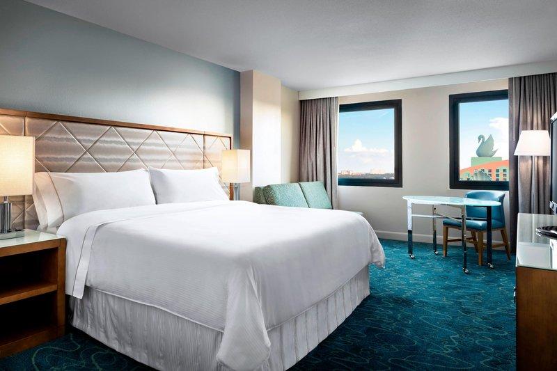 Walt Disney World Dolphin - King Resort View Guest Room <br/>Image from Leonardo
