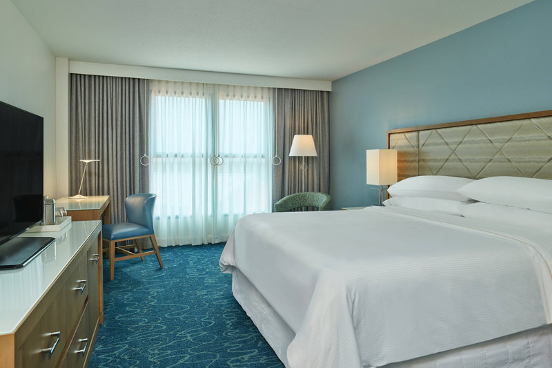 Walt Disney World Dolphin - Accessible King Guest Room <br/>Image from Leonardo