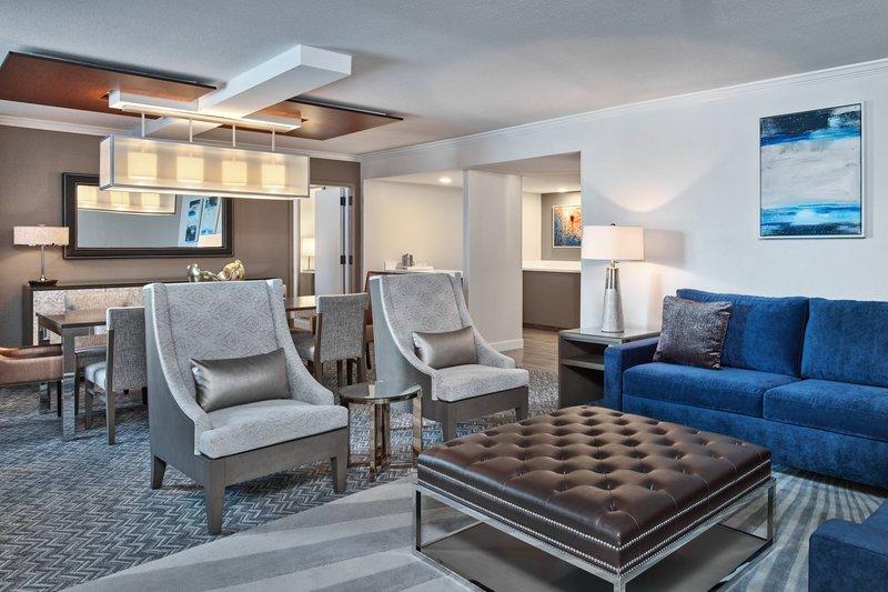 Walt Disney World Dolphin - Grand Suite - Parlor Living Room <br/>Image from Leonardo