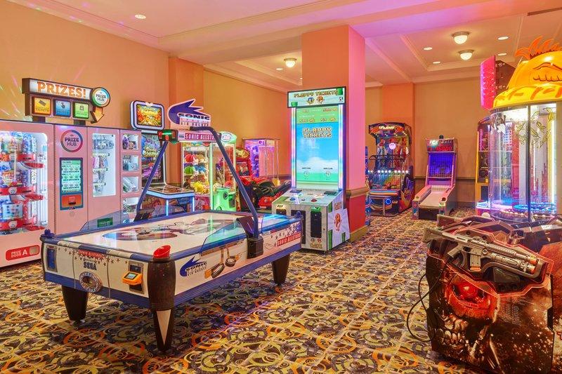 Walt Disney World Dolphin - Arcade <br/>Image from Leonardo