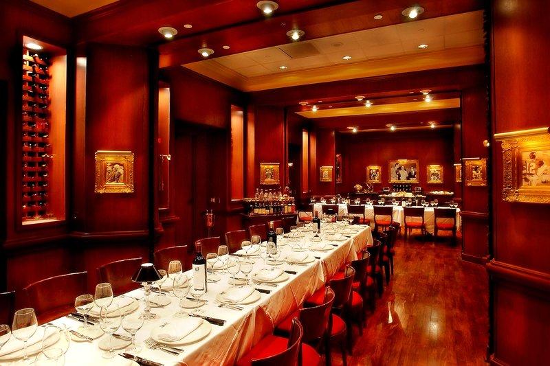 Walt Disney World Dolphin - Shula s Steak House Private Dining Room <br/>Image from Leonardo