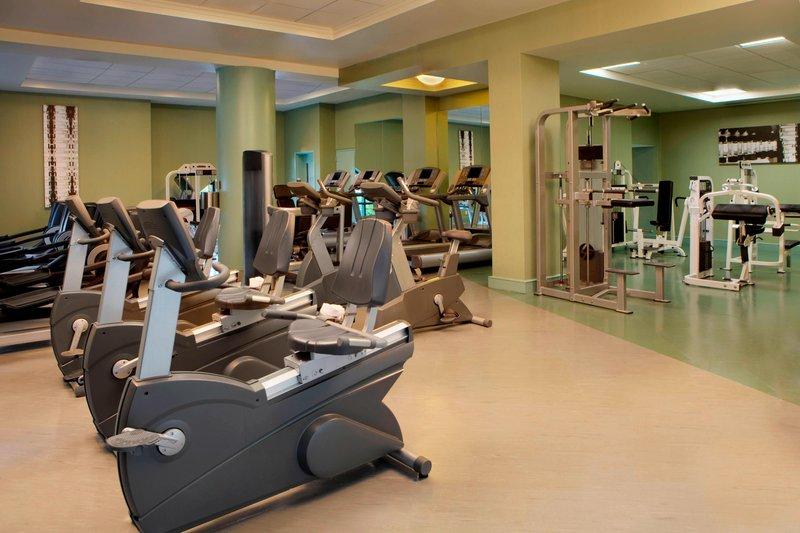 Walt Disney World Dolphin - Fitness Center <br/>Image from Leonardo