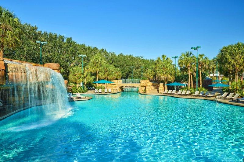 Walt Disney World Dolphin - Grotto Pool <br/>Image from Leonardo