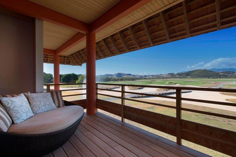 Sheraton New Caledonia Deva Spa And Golf Resort-Superior Golf Room terrace and View<br/>Image from Leonardo