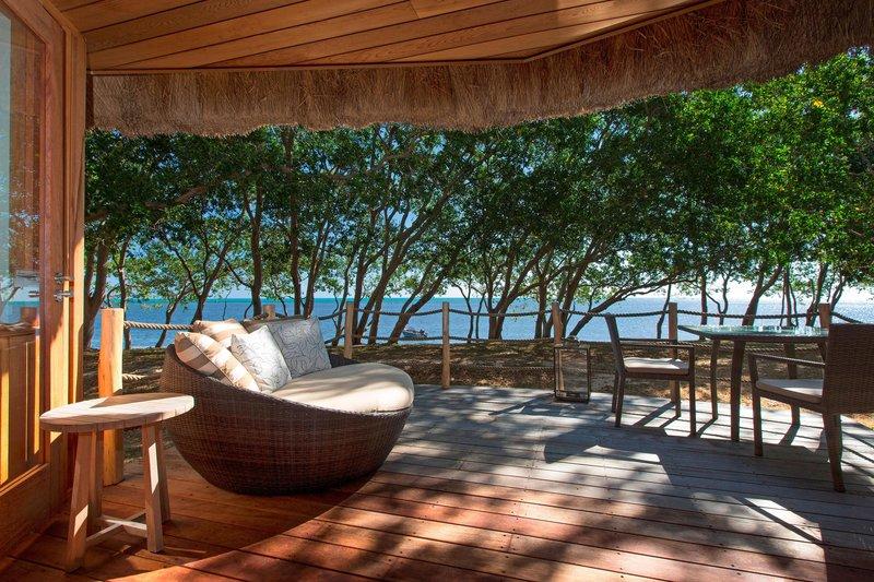Sheraton New Caledonia Deva Spa And Golf Resort-Beachfront Bungalow terrace and View<br/>Image from Leonardo