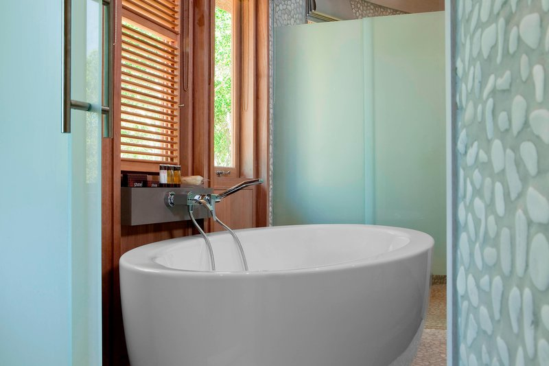 Sheraton New Caledonia Deva Spa And Golf Resort-Bungalow Bathroom<br/>Image from Leonardo