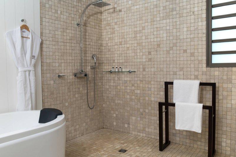Sheraton New Caledonia Deva Spa And Golf Resort-Accessible Guest Bathroom<br/>Image from Leonardo