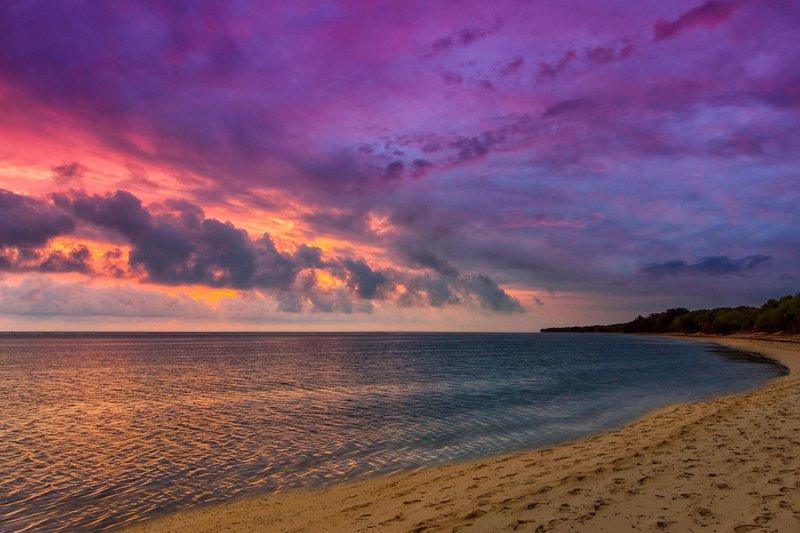 Sheraton New Caledonia Deva Spa And Golf Resort-Sunset on Poe beach<br/>Image from Leonardo