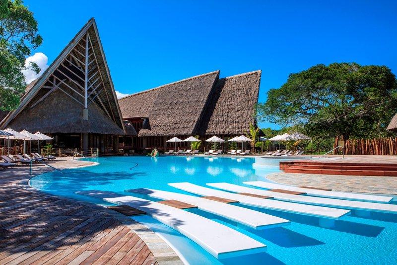 Sheraton New Caledonia Deva Spa And Golf Resort-Swimming Pool and Main Building<br/>Image from Leonardo