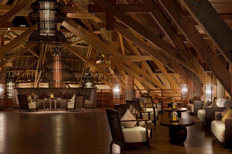Sheraton New Caledonia Deva Spa And Golf Resort-Foyer by night<br/>Image from Leonardo