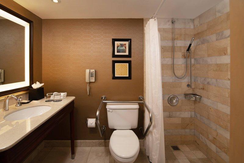 Sheraton Santo Domingo-Accessible Guest Bathroom<br/>Image from Leonardo