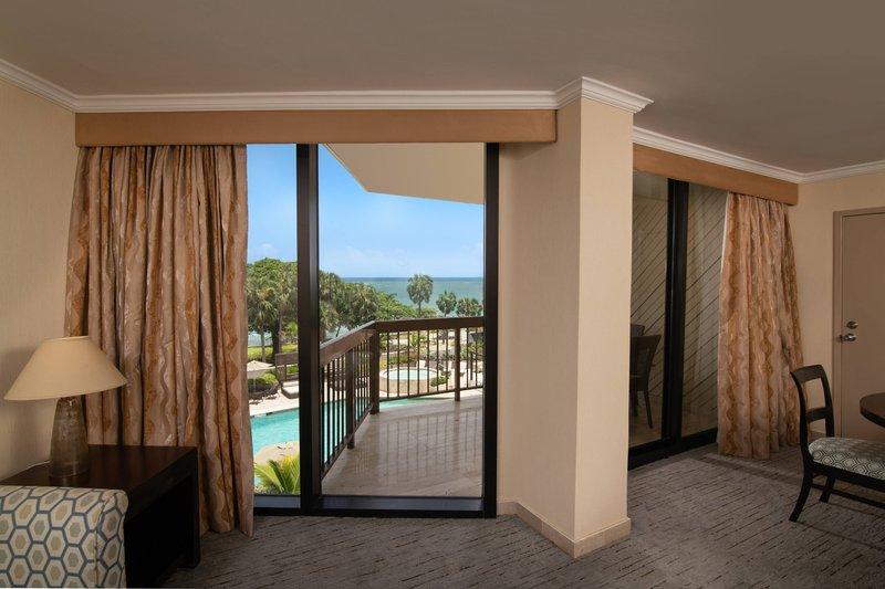 Sheraton Santo Domingo-Suite Balcony<br/>Image from Leonardo