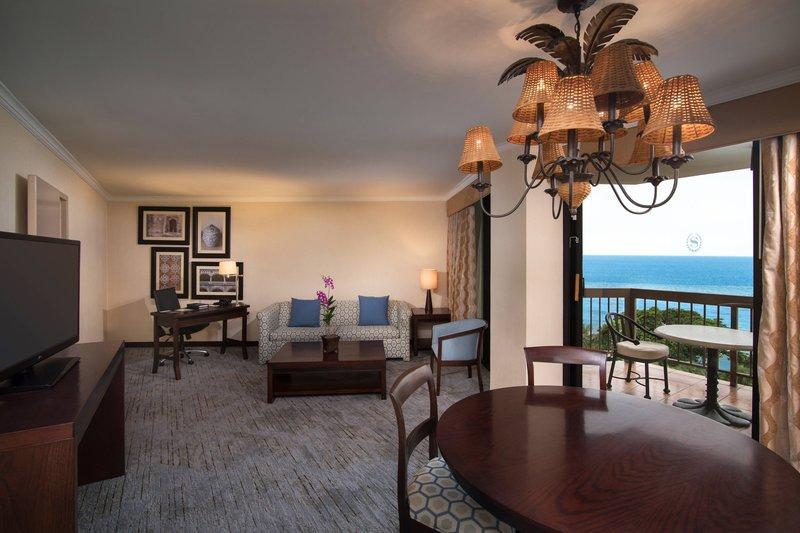 Sheraton Santo Domingo-Suite - Balcony<br/>Image from Leonardo