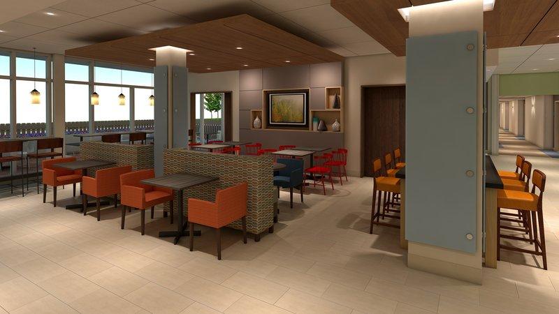 Holiday Inn Express Kingston West-Breakfast Area<br/>Image from Leonardo
